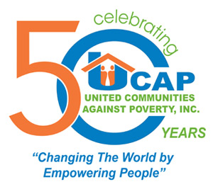 United Community Against Poverty 50th Anniversay Logo