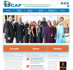 UCAP 50th Annv Website Design Image